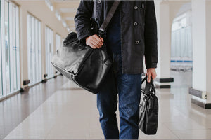 Leather Nômade Travel Bag NW081