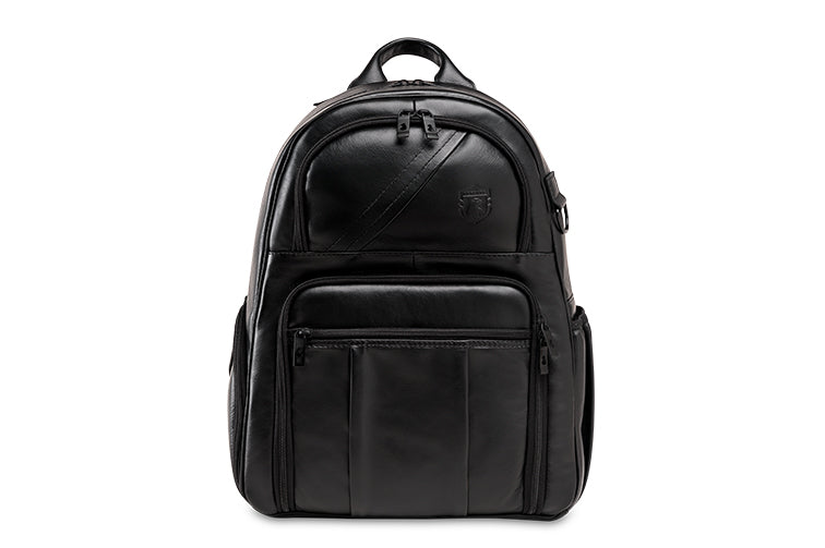 Leather photographers backpack NW88 black edition
