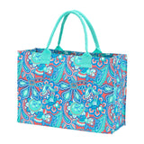 Monogrammed Island Bliss Tote Bag
