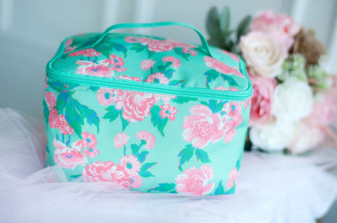 Monogrammed Victoria Cosmetic Bag