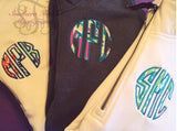 Monogrammed Lilly Pulitzer Applique Quarter Zip Pullover Sweatshirt