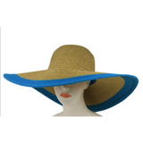 Monogrammed Wide Outline Floppy Hat