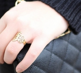 Monogrammed Classic Ring