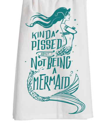 Mermaid Dish Towel