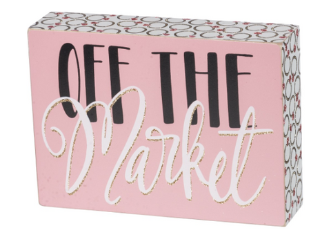 Off the Market Box Sign