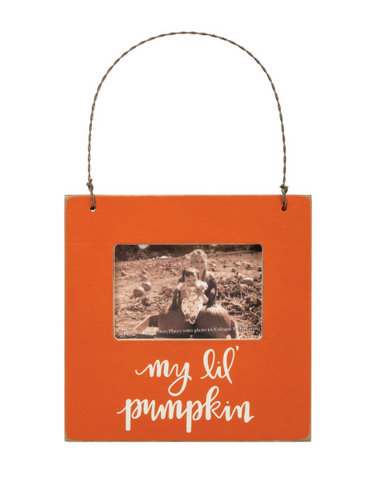 My Lil' Pumpkin Mini Hanging Frame