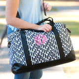 Monogrammed Carolina Night Weekender Bag