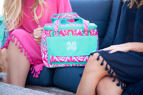 Monogrammed Beachy Keen Cooler Bag
