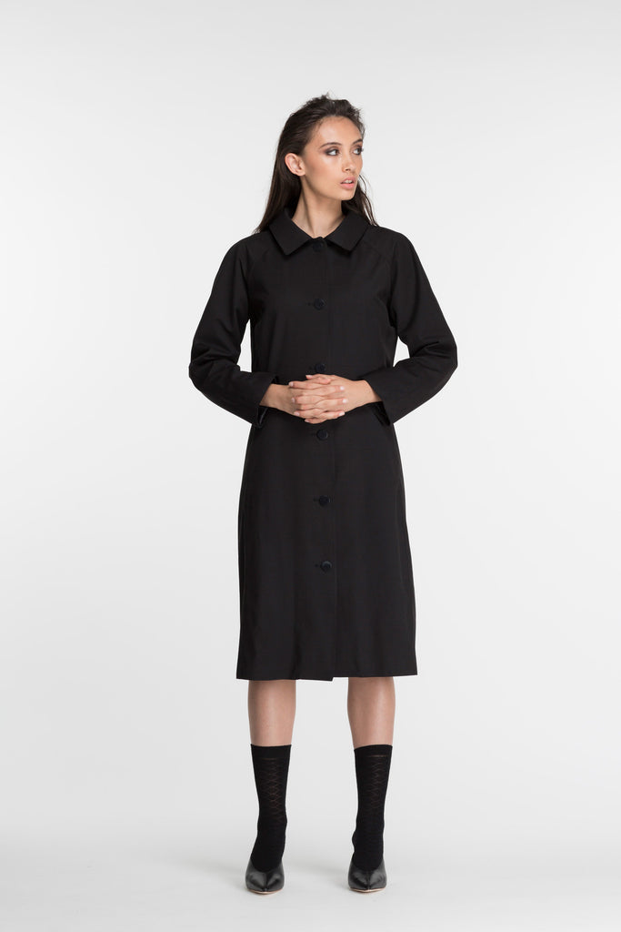 Amherst Coat | Black