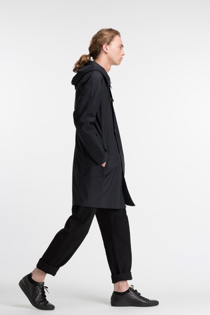 Slim Overcoat (Amherst Coat) | Ink