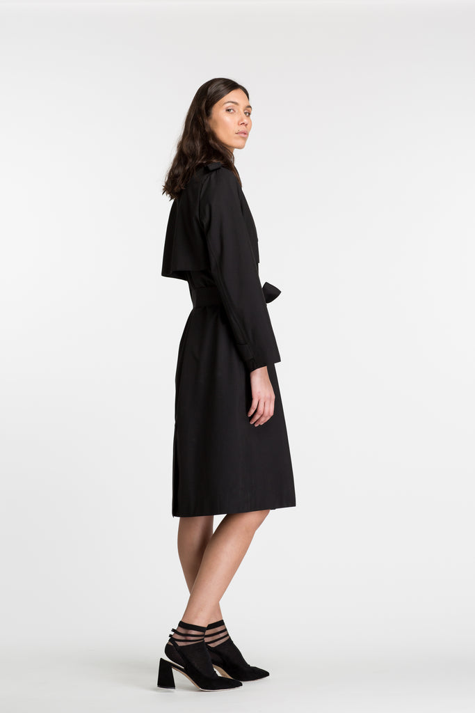 Recycled Line | Birmingham Trench | Black