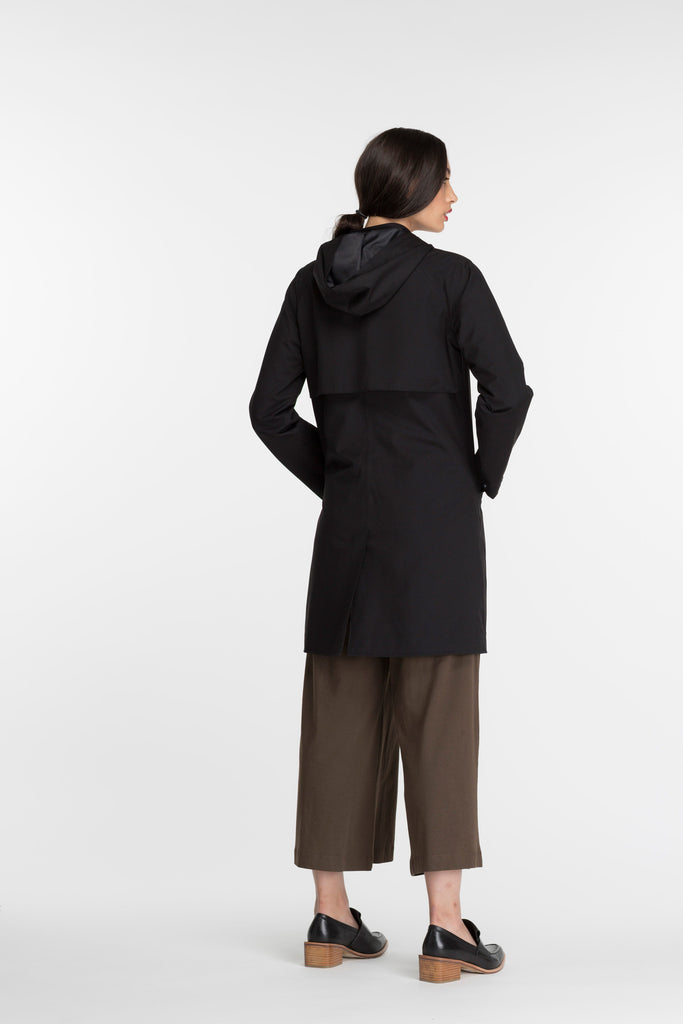 Raglan Coat | Black