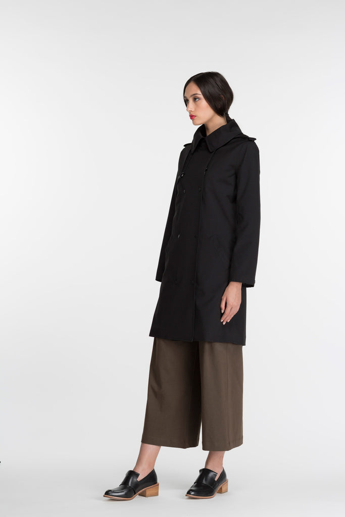 Trench Coat | Black