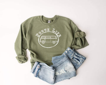 PRE-ORDER Pogue Life Pullover - Olive