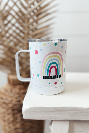 Mama Rainbow Travel Cup