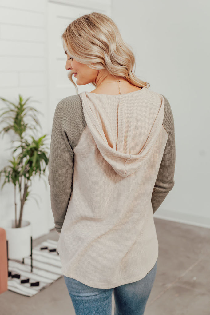 Twill Jacket With Leopard Faux Fur Lining
