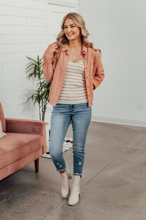 Nothing Like You Jumpsuit-Off White (S-XL) - Beautique