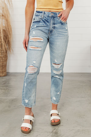 KanCan Georgina Mom Jeans