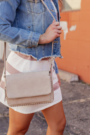 The Jane Bag - Light Taupe
