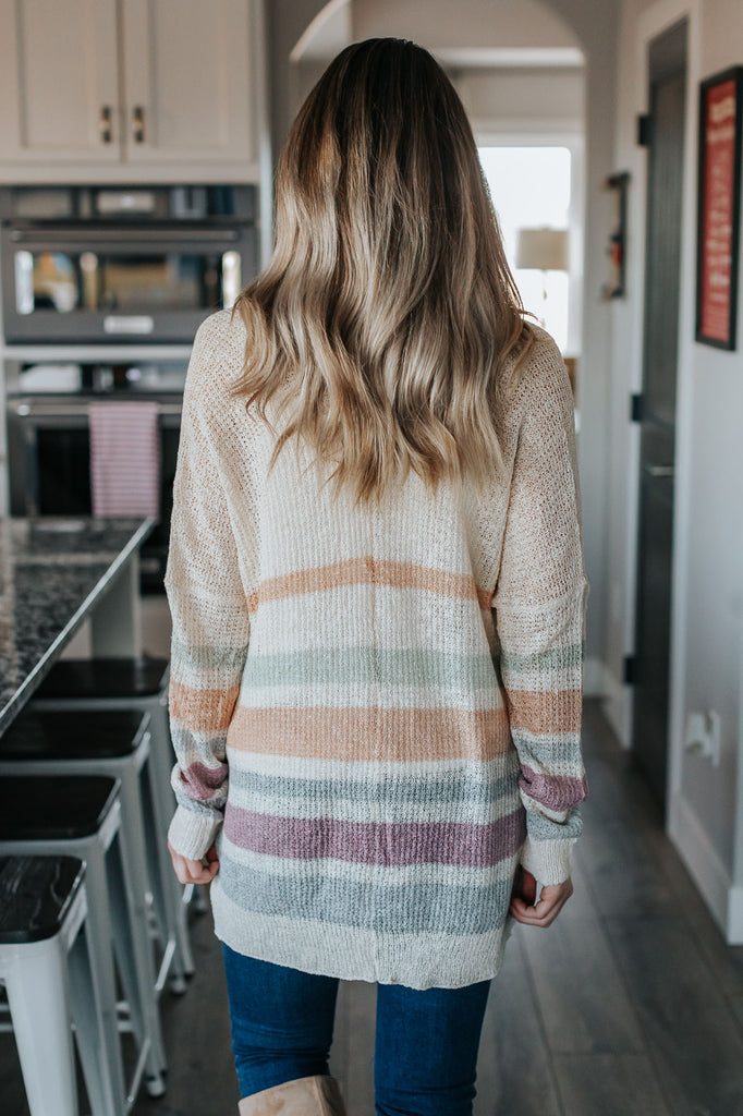 Two Toned Cami Sweater
