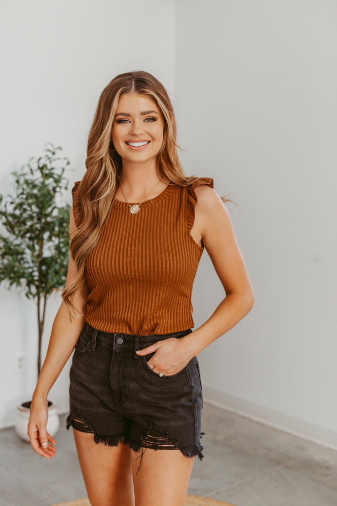 Anything Could Happen Cardigan- Taupe