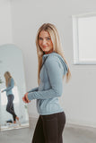 Aspen Waffle Knit Sweater- Multiple Options - Beautique