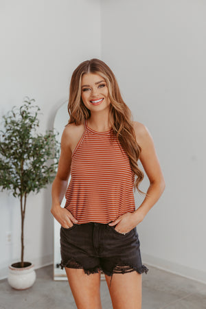 Out & About Tee-Dusty Teal(S-XL) - Beautique