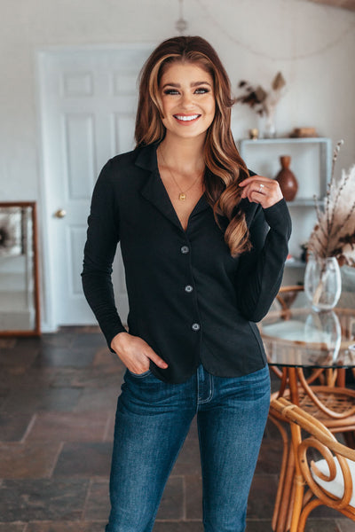Fall Forest Striped Sweater
