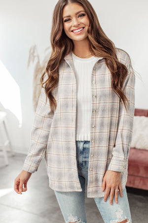Backroads Plaid Shacket