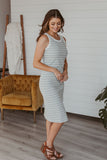 Grace & Lace Double Knit Pointelle Cardi -  Fuchsia/Lilac
