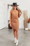 Grace & Lace Perfect Baseball Tee Dress
