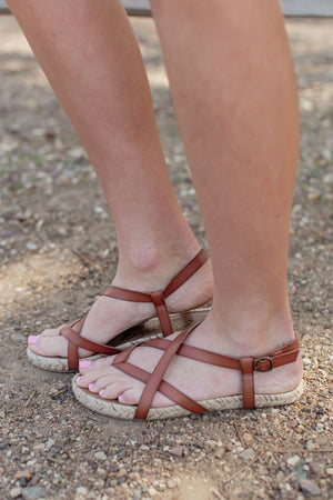 Blowfish Granola Rope Sandal - Arabian Sand