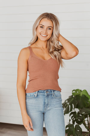 Grace & Lace Eyelash Lace Cami - Almost Animal
