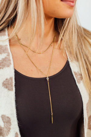 Remi Layered Necklace-Gold