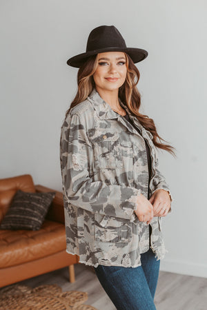 Game Changer Striped Tee-Black