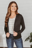 Happy Hour Blazer- Grey