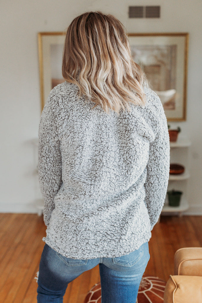 Cold Days Faux Fur Pullover