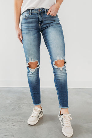 KanCan Distressed Jessie Jeans