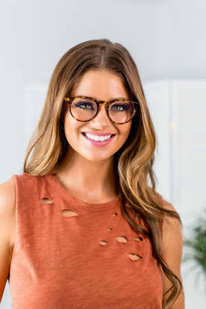 DIFF Sawyer Glasses- Amber Tortoise - Beautique