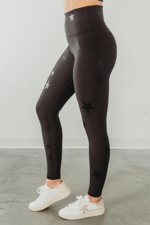 Subtle Stars Printed Leggings
