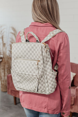 The Lacey Backpack - Cream
