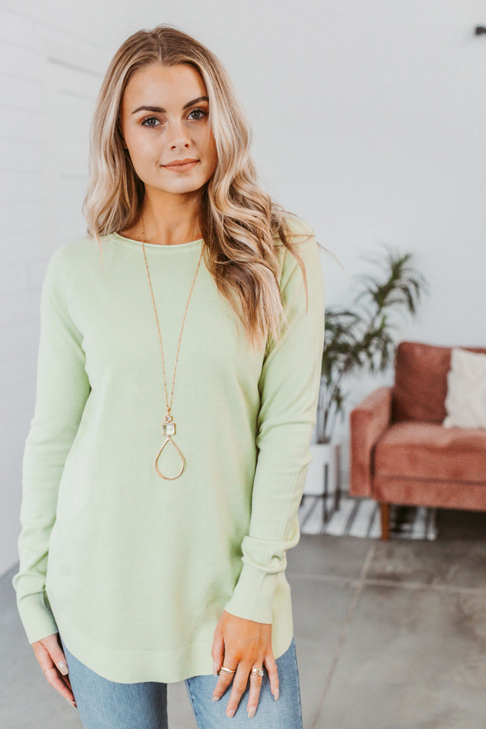 Flirty & Thriving Lace Tank-White