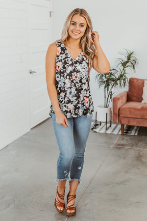 Stand By You Plaid Top- Burgundy