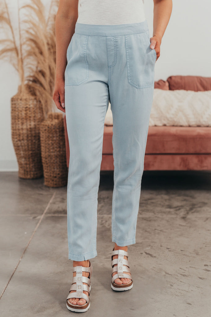 Ready For Anything Pants - Chambray