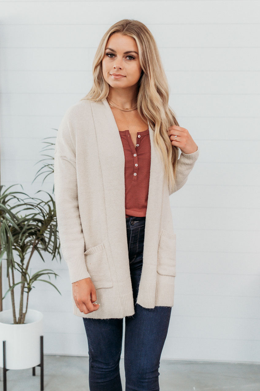 Enjoy Every Moment Cardigan(S-XL)