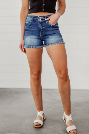 KanCan Tara High Rise Shorts