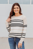 Curves- Perfectly Snapped 3/4 Sleeve Cardigan