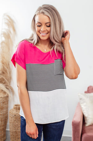 You & Me Striped Tank