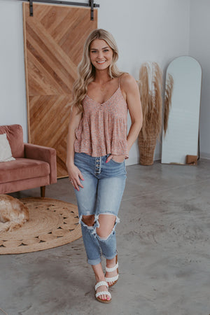 Splendid Florals Dress - Mint