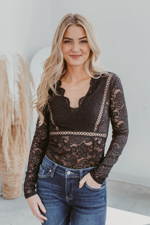 Grace & Lace Colorblock Sweater